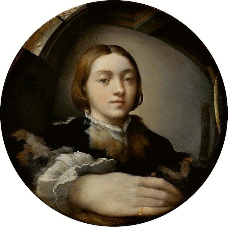 800px-Parmigianino_Selfportrait